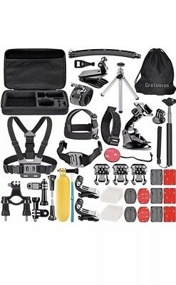 Greleaves Action Camera Attachments And Accessories Bundle Set For Gopro Hero