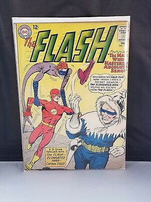 The Flash #134 VG- 3.5 Captain Cold/Elongated Man Appearance Combined Shipping