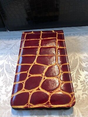 Large Genuine Leather Photo Album With Gift Box Scrapbook Style