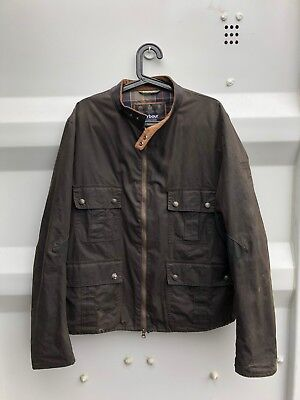 Barbour International Steve Mcqueen Mens Chico Wax Jacket - XXL SOLD OUT
