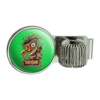 Tiki Time Witch Doctor Tropical Island Bicycle Handlebar Bike Bell
