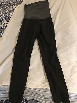A Pea In The Pod Grey Maternity Leggings Pants M