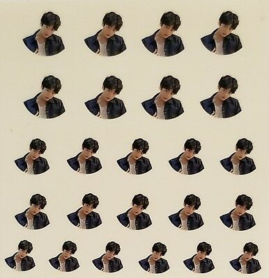 Bts 24 Set Jungkook Nail Stickers Transfer Decals Nails So Cute  Us Seller
