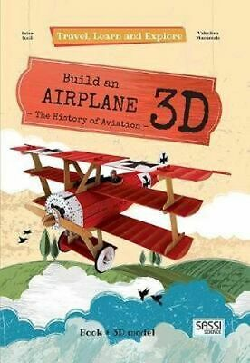 NEW Build an Airplane 3D By Valentina Manuzzato Hardcover Free Shipping