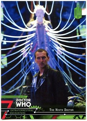 Ninth Doctor #10 Dr Who Extraterrestrial Encounters 2016 Topps Trade Card C2008