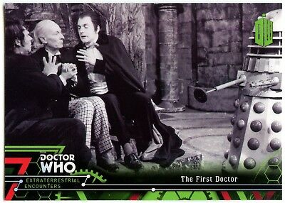 First Doctor #1 Dr. Who Extraterrestrial Encounters 2016 Topps Trade Card C2008
