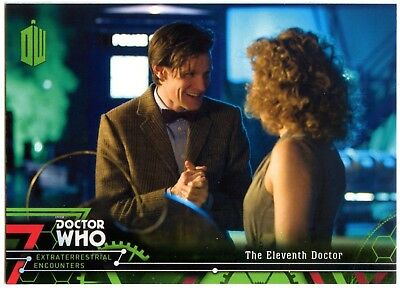 Eleventh Doctor #12 Dr. Who Extraterrestrial Encounters 2016 Topps Card (C2008)