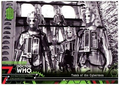 Tomb Of Cybermen #54 Dr. Who Extraterrestrial Encounters 2016 Topps Card C2008