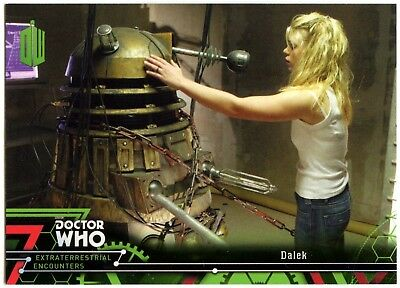 Dalek #72 Dr Who Extraterrestrial Encounters 2016 Topps Trade Card C2008
