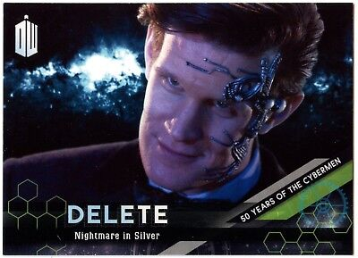 Nightmare #8 Dr Who Extraterrestrial Encounters DELETE Cybermen Chase Card C2014