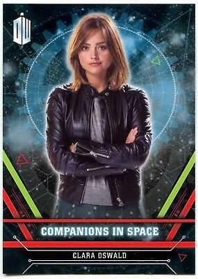 Clara Oswald #1 Dr Who Extraterrestrial Encounters Companions Chase Card (C2015)