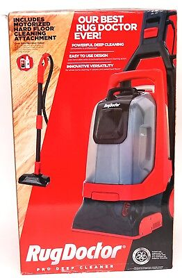 New Rug Doctor Pro Deep Carpet Cleaner With Motorized Upholstery