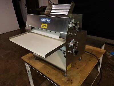 Somerset CDR-2000  Double Pass Dough Roller - Stainless Steel...... Video Demo