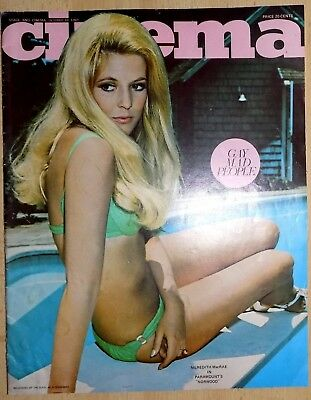 Stage & Cinema Magazine(S.Africa)1969,Cover Meredith McCrae/Alain Delon Pin-Up