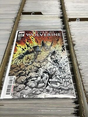 Return of Wolverine #1 McNiven Premiere Variant