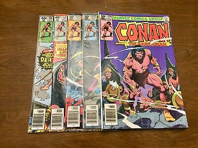 Conan The Barbarian - Marvel - 42 Issues - VF