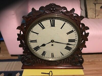 black forest clock fusee 12 inch lovely