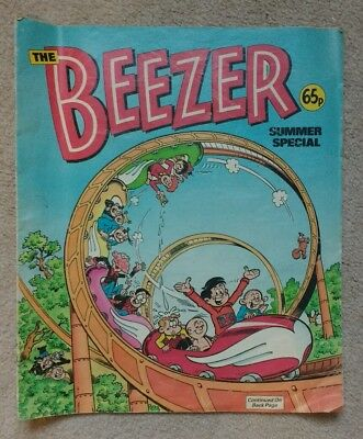 Beezer Summer Special Comic 1988
