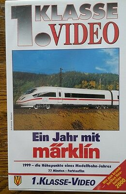 1. Klasse Video Ein Jahr mit Märklin 1999 VHS Video