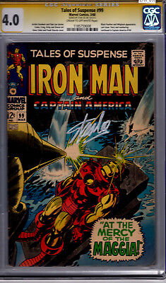 Marvel! Tales of Suspense #99! CGC Signature Series 4.0! Signed by Stan Lee!