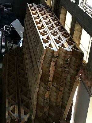 FLOOR TRUSSES - 15ft Long - 12 Inches - Comes complete