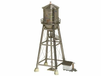 Woodland Scenics N Scale Built-N-Ready Rustic Water Tower LED Lighted - SPECIAL!