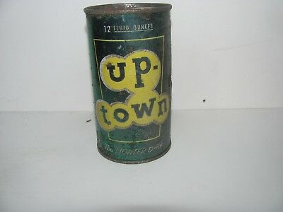 Vintage Up-Town Soda Flat Top Can