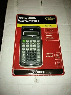 Texas Instruments TEX30X Scientific Calculator NEW! Unopened!