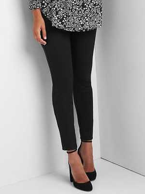 Gap Maternity Full Panel Ponte Leggings in Black ~ NWT ~ Size Medium M