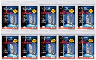 """Ultra Pro 5"""" x 7"""" Soft Sleeves protection for photos and postcards, 1000 count"""