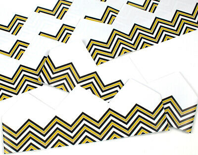 Zig Zag Adjustable Paper Hats for Crackers - 10 or 25 Pack