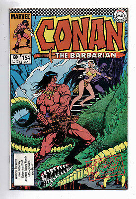 Conan the Barbarian #154 and #155, Marvel, 1984, VF condition