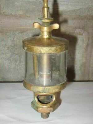 Original Brass Ohio Inj. Co. Hit & Miss Engine Oiler
