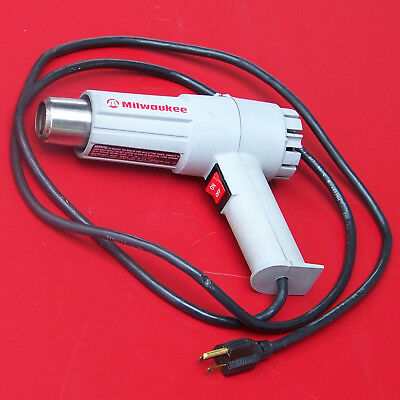 Milwaukee Heat Gun Professional Tool in Handle Carry Box, Super-Clean Low-Hours