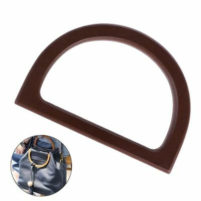 Wooden Handle Replacement DIY Handbag Purse Frame For Bag Accessories