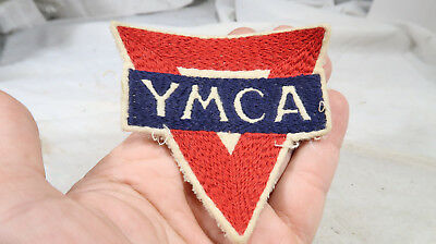 Early Chain Stitched YMCA Jacket Patch