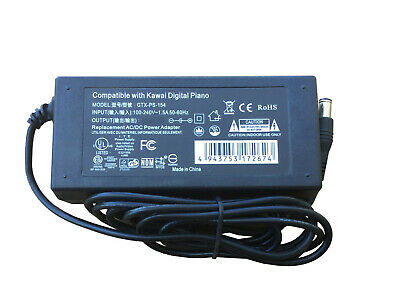 AC Adapter Power Supply for Kawai CN27 Digital Piano CN-27