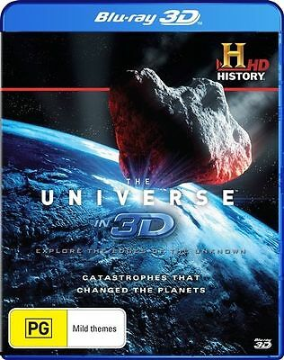 The Universe In 3D - Catastrophes That Changed The Planets (Blu-ray, 2013)