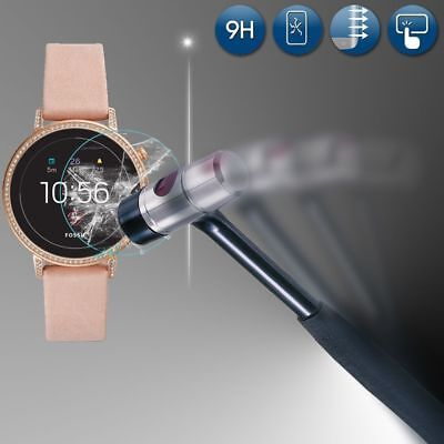 For Fossil Q Venture HR (4.Gen) Real Tempered Glass Screen Protector Fim