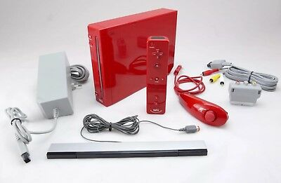 32GB DVD PLAYER MODEL Modded Nintendo Wii Homebrew System, Console