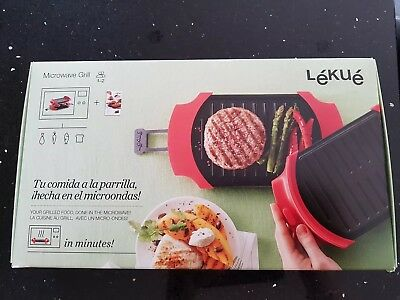 New & Boxed Lekue Microwave Grill By Lakeland - Sold Out Everywhere!!!!