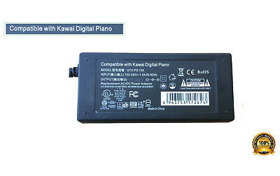 AC Adapter - Power Supply for Kawai ES8 Digital Piano ES-8