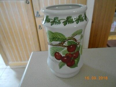 Portmeirion Pomona Large Utensil Jar - Older And Discontinued