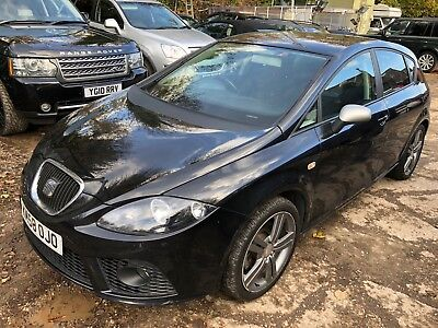 "58 Seat Leon 2.0 Tdi 170 Fr Manual - 9 Stamps, Climate, 18"" Alloys, Radio, Nice!"