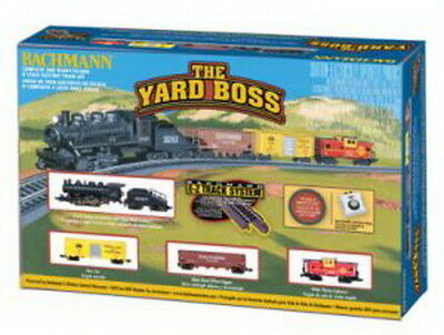 Bachmann 24014 N Santa Fe Yard Boss Train Set