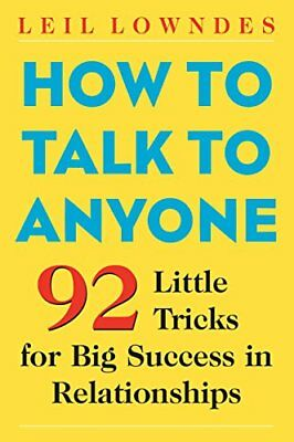 [PDF] How to Talk to Anyone - Leil Lowndes (Digital Book)