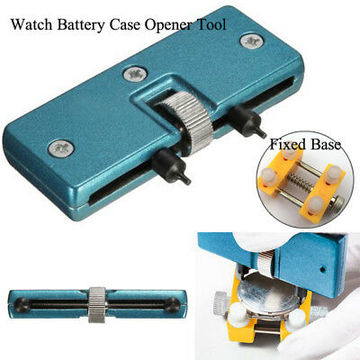 Battery Case Watch Opener Tool Watch Repair Tool Remover Opening Pro Fixed Base