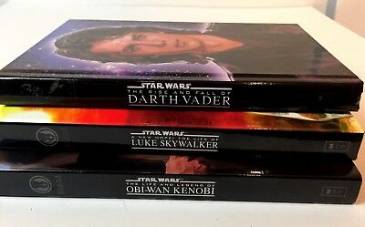 Star Wars The Rise And The Fall Of Darth Vader Life Of Luke Skywalker Obi Wan 18 66 Picclick