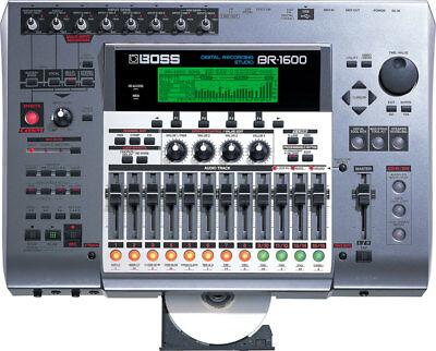 Boss BR 1600 CD Digital Recorder V.2.0