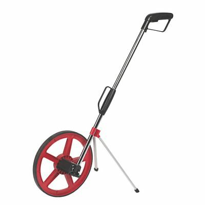 Forge Steel Foldable Distance Measuring Wheel With Stand & Bag Surveyors Land